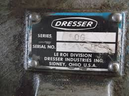 le roi dresser air compressor on 50 gallon weaver tank ebay