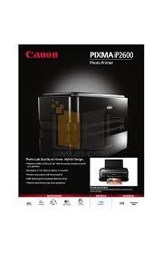 canon printer manuals download free pdf for canon pixma ip2600 printer manual