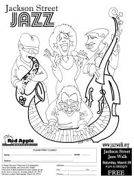 jazzwalk coloring page chs capitol hill seattle
