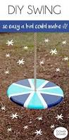 diy wooden swing super easy to make perfect project to do with