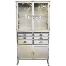 vintage medical cabinet for sale 1890s french dental medical cabinet with drawers and glass shelves