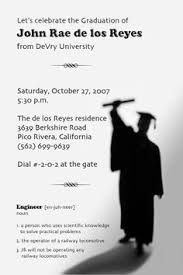 graduation invitation templates free printable computer