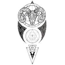 17 catchy ram tattoo designs
