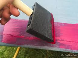 Paint Patio Umbrella How To Paint An Outdoor Umbrella Ella Ella Eh Eh The Heathered