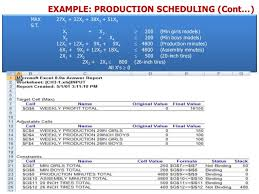 4 linear programming using excel solver