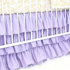 purple u0026 gold sparkle bumperless crib bedding caden lane