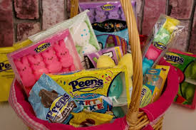 peeps easter basket easy easter basket ideas for kids with peeps company luck