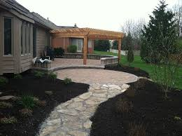 Elegant Hardscape Patio Ideas Patio With Pavers  Best Ideas - Backyard paver patio designs pictures