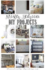 diy room decor ideas for the master bedroom domestically speaking