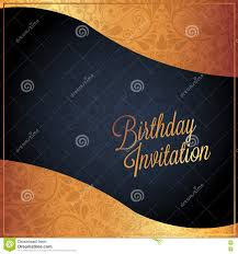 birthday card with background design stock vector image 69864095