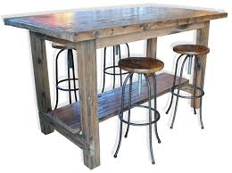 high table with stools the rail yard high table dining room industrial vintage retro