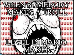 Troll Guy Meme - when somebody makes a troll rage guy meme on memegen