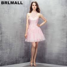 light pink graduation dresses brlmall stunning light pink homecoming dresses lace appliques beads