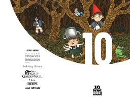 Garden Wall by Exclusive Boom Studios Takes Us Back U0027over The Garden Wall U0027