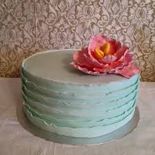 Shabby Chic Baby Shower Cakes by Shabby Chic Baby Shower Cake Cakedecorating Shabbychic