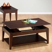 pop up coffee table midcentury popup storage coffee table table