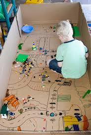 Plans To Make A Toy Box by 31 Awesome Things You Can Do With Cardboard Boxes