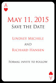 save the date card las vegas wedding invitations save the date card with