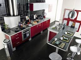 cuisine table ophrey com cuisine moderne avec un bar prélèvement d