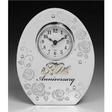 30th wedding anniversary gifts 30th wedding anniversary clock 30th wedding anniversary