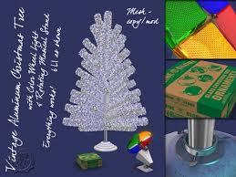 aluminum christmas tree second marketplace r s w aluminum christmas tree set