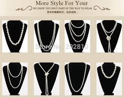 wear long necklace images Oem odm factory autumn winter the latest style pearl long necklace jpg