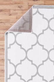 large modern geometric trellis moroccan thin carpet contemporary