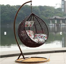elegant furniture lazy cradle swing chair indoor and outdoor