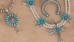silver turquoise necklace images American west jewelry southwestern jewelry jpg