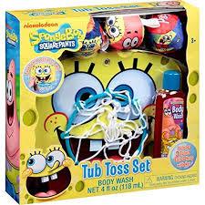 Spongebob Bathroom Decor by Amazon Com Nickelodeon Spongebob Squarepants Basketball Tub Toss