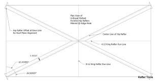 Hips Roof Roof Framing Geometry Pyramid Hip Roof Rafters Equal U0026 Unequal