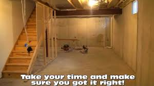 unfinished basement lighting heating an unfinished basement