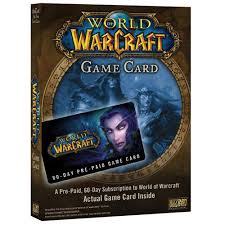 world of warcraft 60 day online game card prepaid game cards