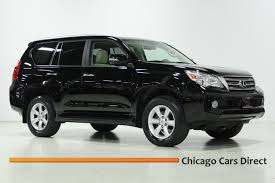 lexus v8 suv for sale chicago cars direct presents a 2011 lexus gx460 4wd suv black