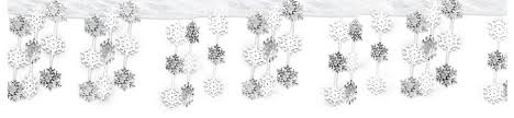 snowflake decorations winter theme party winter decorations