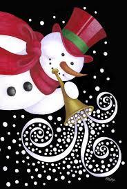 vw snowman snowman garden flags christmas wikii