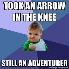 Meme Skyrim - the very best of the skyrim arrow in the knee meme pictures