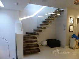 Recessed Handrail Recent Bespoke Staircase Projects Concept Stairs