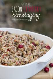 week 23 bacon cranberry rice gluten free delicious