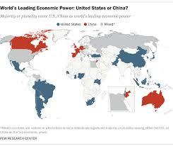 map us states world economies world s leading economic power pew research center
