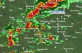 Doppler Radar Map Tornado Warning For Jefferson And Bullitt County Ky Wdrb