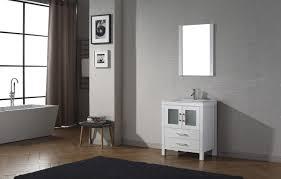 70 Inch Single Bathroom Vanity by Virtu Usa Dior 28 Single Bathroom Vanity Set In White Bathtubs Plus