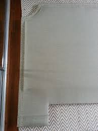 Diy Tufted Headboard Tutorial 7 Easy Steps To A Diy Upholstered Headboard With Nail