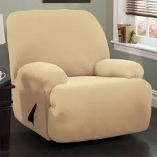 Stretch Slipcover For Couch Double Diamond Stretch Jumbo Recliner Slipcovers