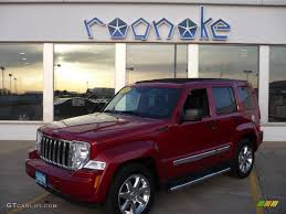 liberty jeep 2009 2009 inferno red crystal pearl jeep liberty limited 4x4 27771046