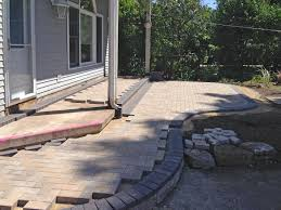 Unilock Holland Stone Paver Patio And Stoop In Arlington Heights Landscaping And