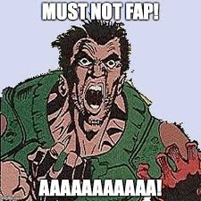 Doom Guy Meme - must not fap doom guy by trollestacat on deviantart