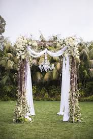 best 25 wedding arch tulle ideas on pinterest simple wedding