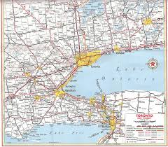 Map Of Ontario Canada by Toronto Map