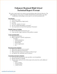 report requirements template report requirements template new technical report template